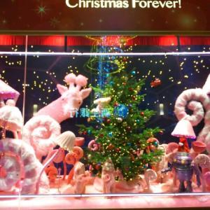 梅田はクリスマス。