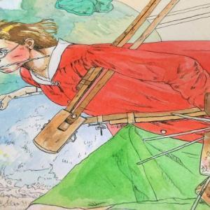 まだ塗ってるノーマンの模写。