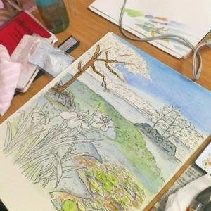 奈良クラス色塗り進捗。