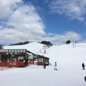 娘とスキー