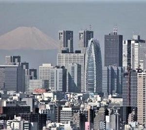 ●県外に出ずに東京で富士山を見る