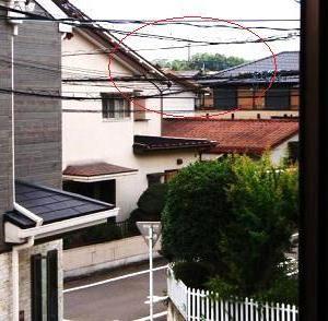 ●昨日は停電で、今朝は騒音で大変でした。