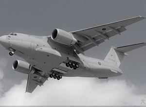●自衛隊輸送機C2がアフガンスタッフを国外退避させるため出動した。