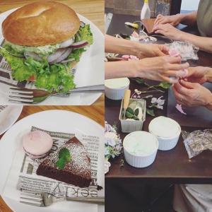 先日のcafeでのワークショップ