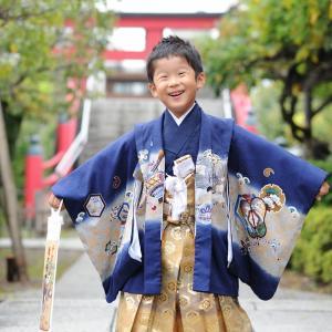 5歳の七五三(江東区 亀戸天神)
