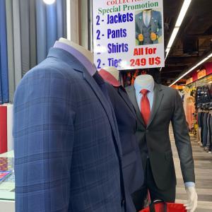 MBKでスーツを作る