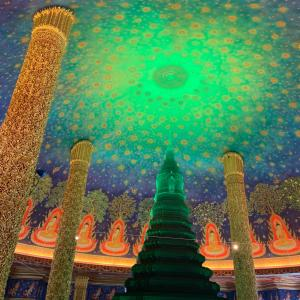 タイの3大お寺とワットパクナーム