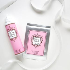 【数量限定!】年に1度のお楽しみ「ダマスクローズの香りの化粧水&オイル&美容液」