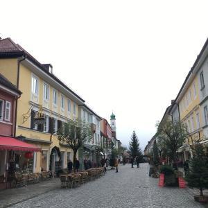 ドイツ・ムルナウ 2 ~かわいい町を散策 & カフェにて一息~