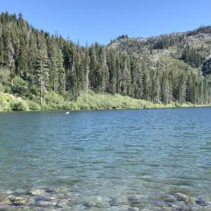 透明度の高い2つの湖♪マウントシャスタ旅行 4