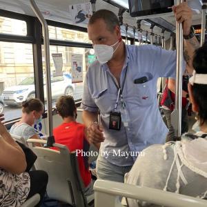バスの乗車時にはご注意を!