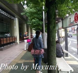 イタリア人夫、1人で東京へ♪