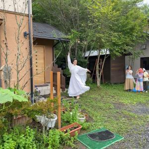 【御神事】三輪福さんによる「宿ひらきの舞」セレモニー終了しました!