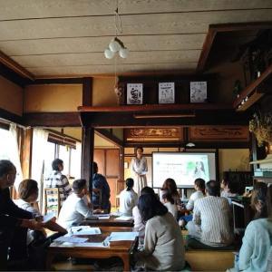【開催報告】磐梯町の古民家マクロビカフェあめつちにてハナリンの真実のお話会