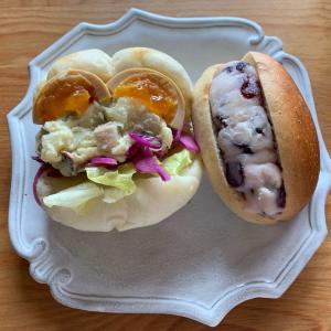 変わり種パンが美味しい! #パン #ランチ #サンドイッチ #ポケモンGO #新潟 #色違い