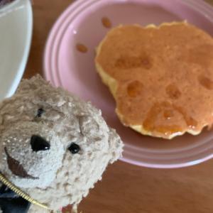 姪っ子の美味しくかわいいパンケーキ #ポケモンGO #立川 #姪っ子 #ケーキ #テッド