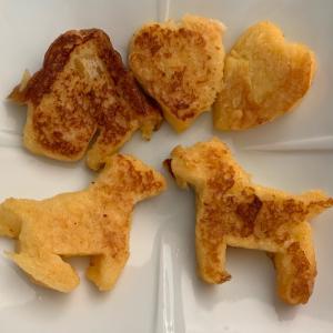 姪っ子とおやつ作り! #フレンチトースト #ポケモンGO #立川 #色違い #姪っ子