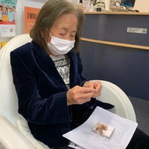 母のワクチン1本目完了!
