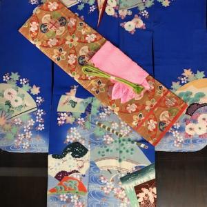 『縞・格子くらべ』11/23-11/27 振袖セット