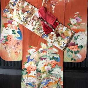 『縞・格子くらべ』11/23-11/27 振袖セット⑤