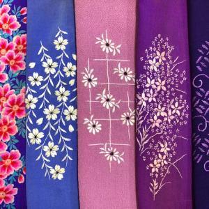 『はぁ~るよ来い♪~春の布あそび~』1/29-新着 追加 ¥1,100刺繍半衿