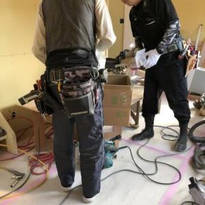 桂木 O様断熱改修工事は最終局面です