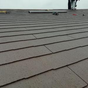 屋根の修繕工事終わりました。
