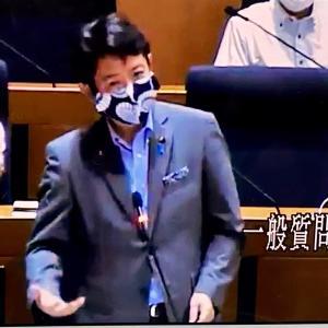 6月11日に行った本会議(一般質問)が町田市HP本会議録画中継にアップされました。