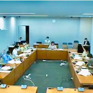 本日、町田市議会健康福祉常任委員会が開催され、「決算認定にあたり付帯意見の集約と表決