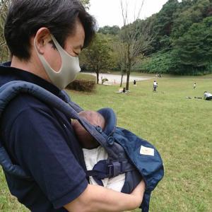 小山田緑地公園ではじめての散歩