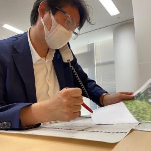 永田町から市役所に戻って、市民相談対応!