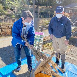 コロナ禍の今年は、『感謝する日』として小山田緑地に、地域の方々や子どもたちを迎えました。