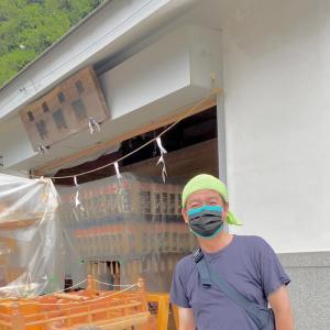 来年こそ、神輿渡御ができますように! 根岸淡嶋神社