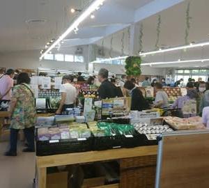 今日は8・10 ハトの日。上熊井農産物直売所プレオープン!
