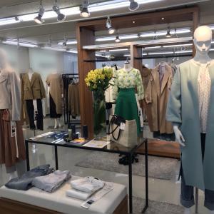 大阪展示会の様子と心斎橋大丸でファッションチェック???50代アラフィフファッションコーデ