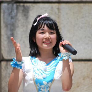 7月12日 鶴舞公園の 天野夏希さん