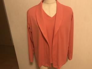 ヘチマ衿のジャケット