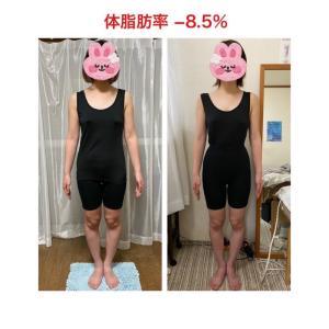 準グランプリ賞 体脂肪▲8.5%