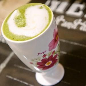 冷えた体を抹茶ラテで温める☆うちカフェ