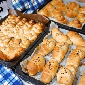 リクエストがあったので久しぶりに焼いたパン