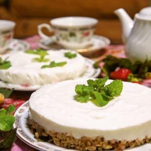 家族が気に入った♪粉寒天で作るレアチーズケーキ