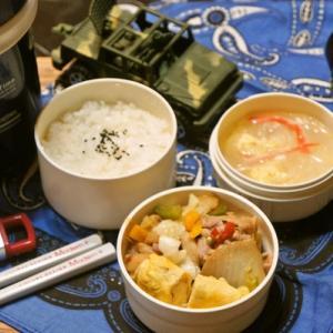 「豚のプルコギ&ダーリンが作った春雨スープ弁当」deゆーたんのランチ