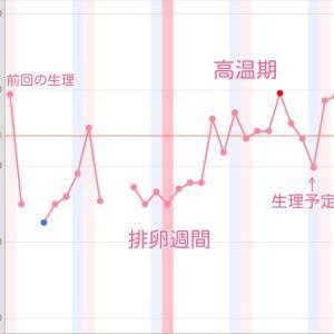 〜妊娠0ヶ月〜妊娠発覚☆基礎体温グラフ公開