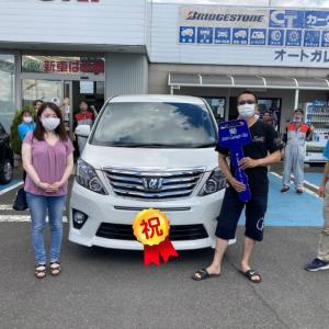 祝!! トヨタ アルファード 納車!!