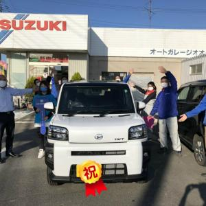 祝!!ダイハツ 新型タフト納車!!