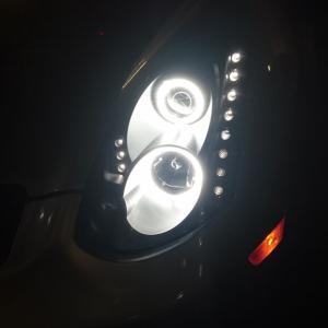ヘッドライト変えました
