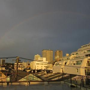 雷雨のち虹