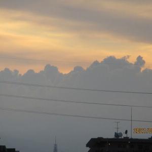 梅雨明けの関東地区に恐竜警報