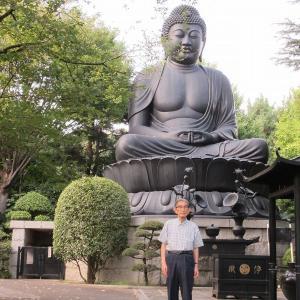 東京大仏~赤塚乗蓮寺の仏像