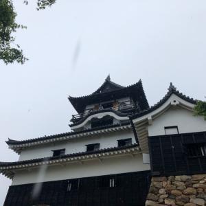 国宝犬山城へ